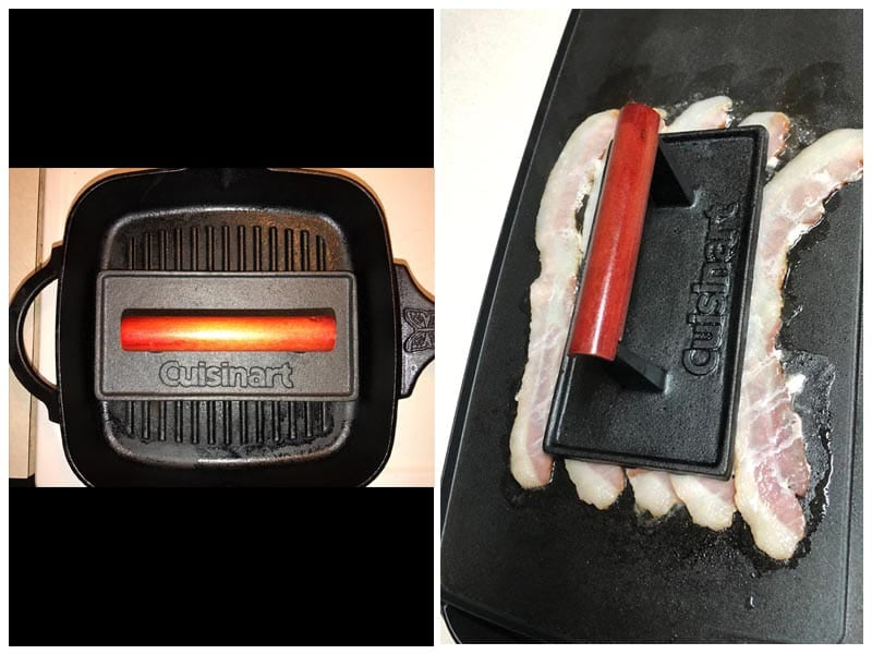 Cuisinart CGPR-221 Cast Iron Grill Press review