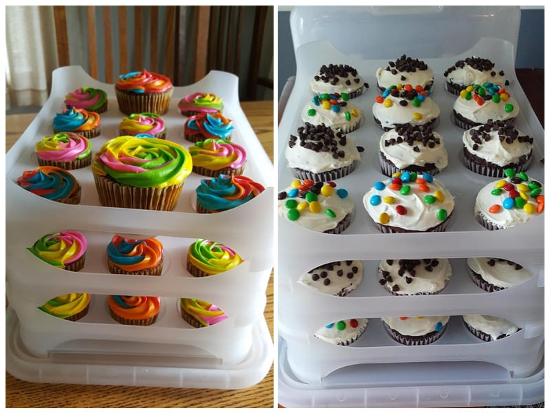 Cupcake Courier's Translucent Cupcake Carrier review