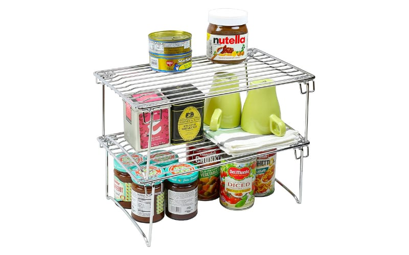 Deco Brothers Stackable Kitchen Cabinet Organizer