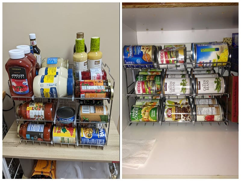 DecoBros Supreme Stackable Can Rack Organizer review