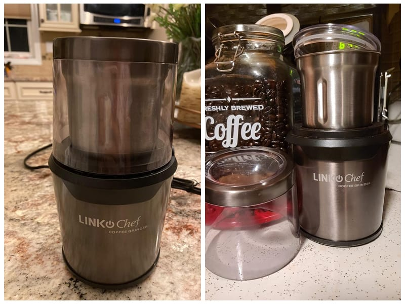 Electric LINKChef Nut & Spice Grinder review