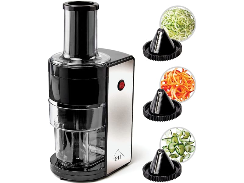 Electric Spiralizer with 3 Blades