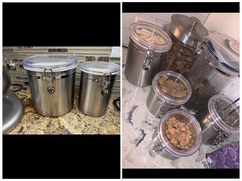 ENLOY Stainless Steel Airtight Canister review