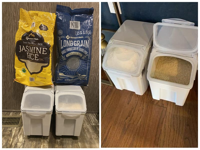 EonTone Rice Storage Containers   review