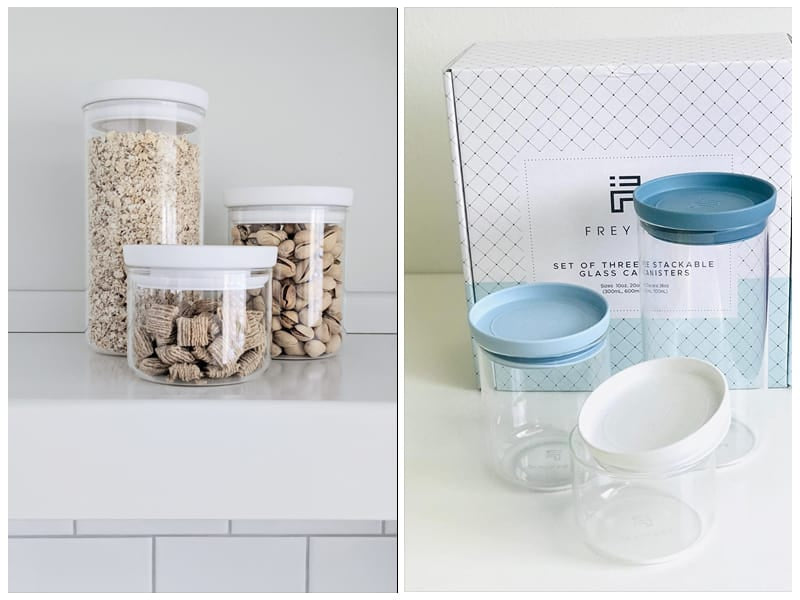 Freyian Dry Food Glass Canisters review