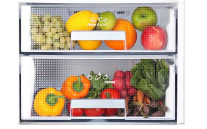 Fruits and Vegetables Separated From Each Other - Image by Spruce