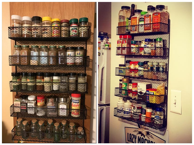 Home-Complete Spice Rack Over The Door Pantry Organizer review