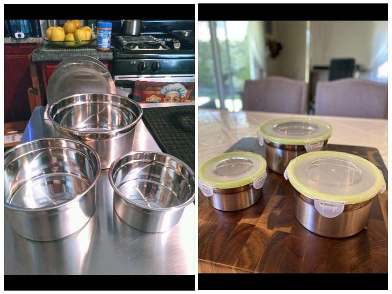JUANALINE Stainless Steel Food Containers review