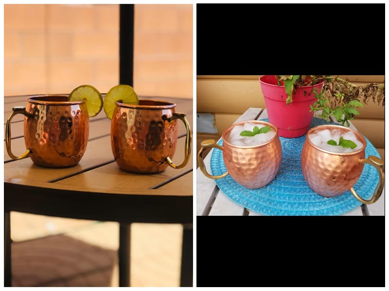 Kool Brew Moscow Mule Copper Mugs review