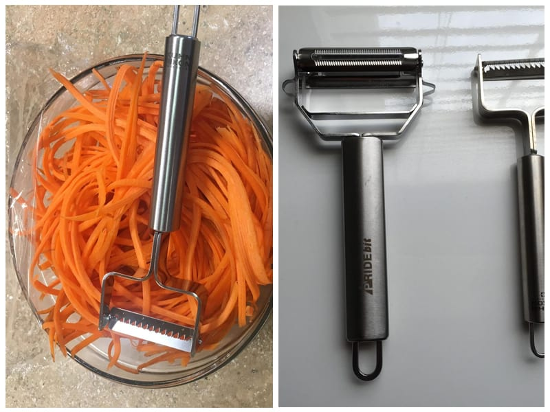Kuhn Rikon Julienne Peeler with Blade Protector review