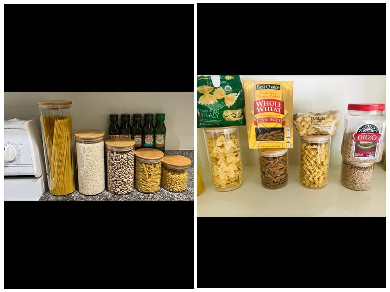 Le'raze Dry Food Canister Set  review