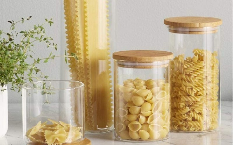 Le'raze Glass Canisters