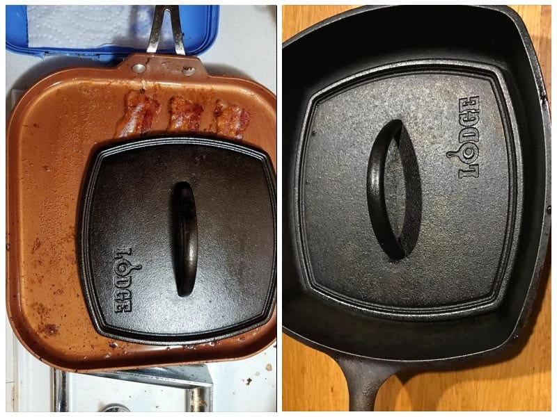 Lodge Flat Iron Grill Press review