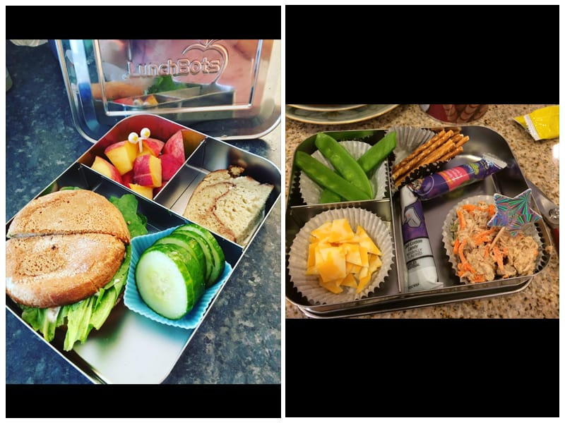 LunchBots Large Trio Stainless Steel Food Container review