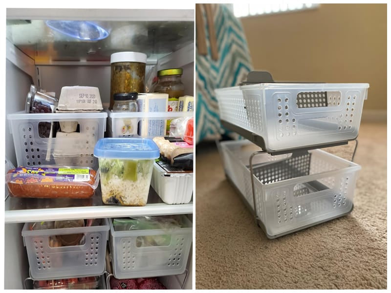 Madesmart Two-Tier Bath Organizer Slide-Out Baskets review