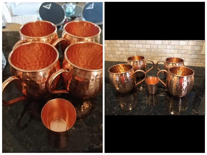 Moscow Mix Moscow Mule Copper Mugs review