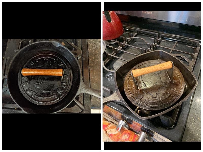 Norpro Round Cast Iron Bacon Press review