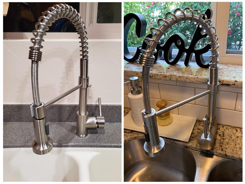 OWOFAN Commercial Solid Brass Kitchen Faucet review
