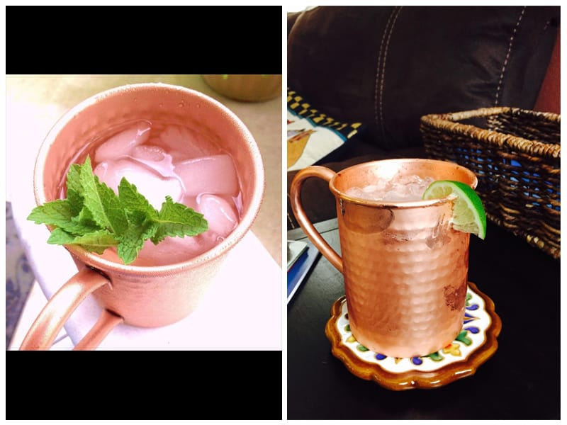 PureCopper Hammered Copper Mug  review