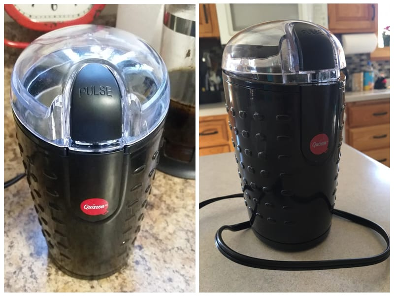 Quiseen One-Touch Electric Nut Grinder review