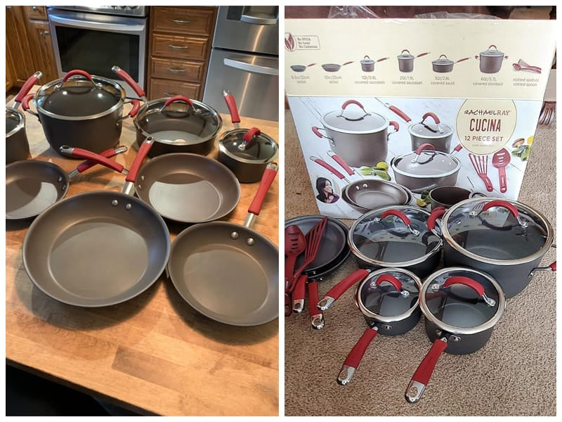 Rachael Ray Cucina Hard-Anodized Cookware Set review