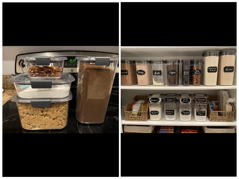 Rubbermaid Brilliance Dry Food Storage Containers review
