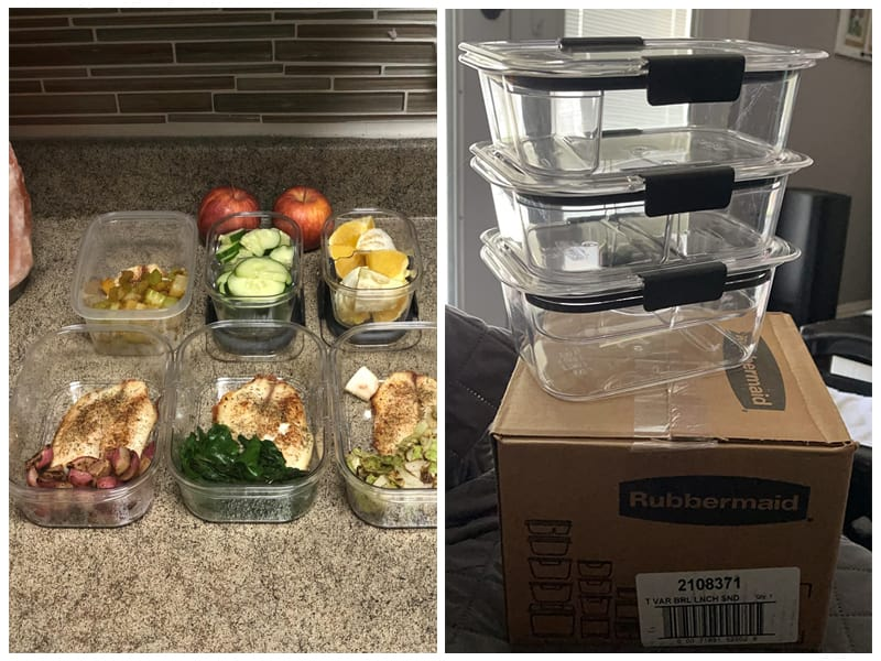 Rubbermaid Brilliance Food Storage Containers review