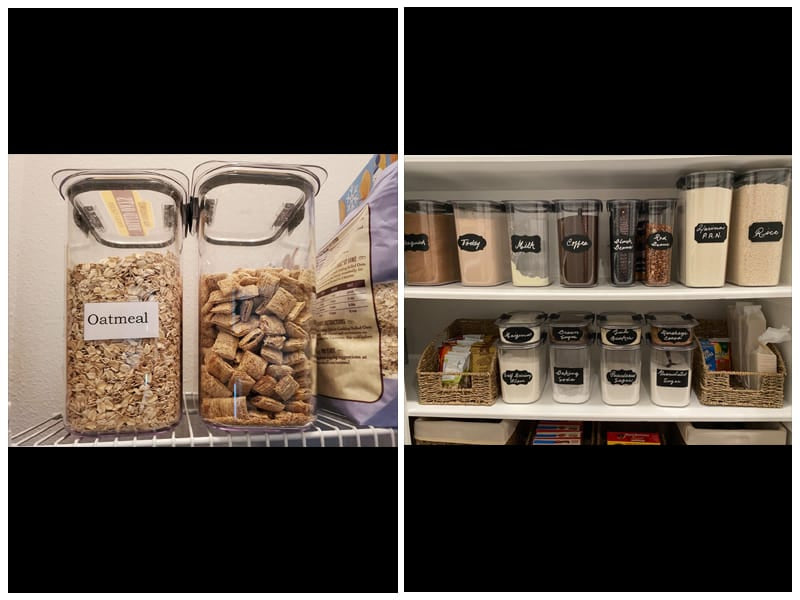 Rubbermaid Brilliance Pantry Organizer Pasta Containers review