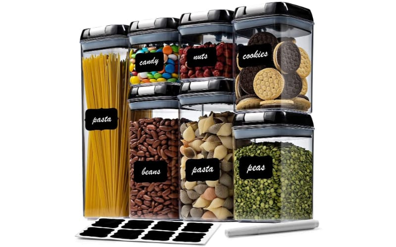 Seseno Airtight Dry Food Storage Containers
