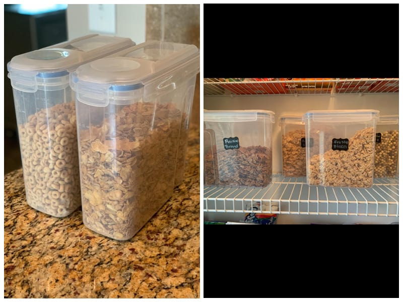 Shazo Cereal Storage Container Set review