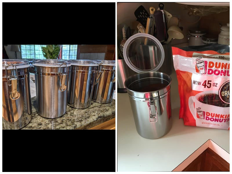 SilverOnyx Stainless Steel Canisters review