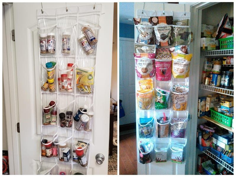 Simple Houseware Clear Over The Door Pantry Organizer review