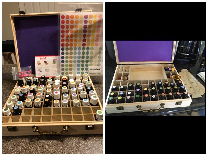 Soligt Wooden Essential Oils Storage Box review