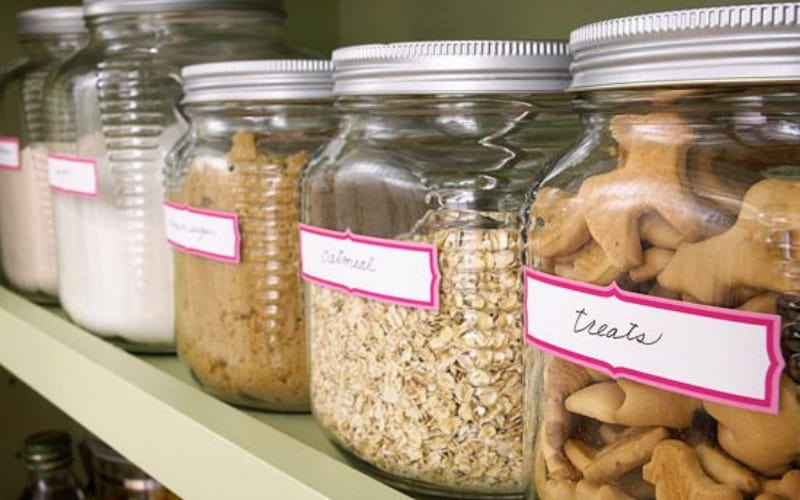 Storage Jars - Image by Better Homes and Gardens