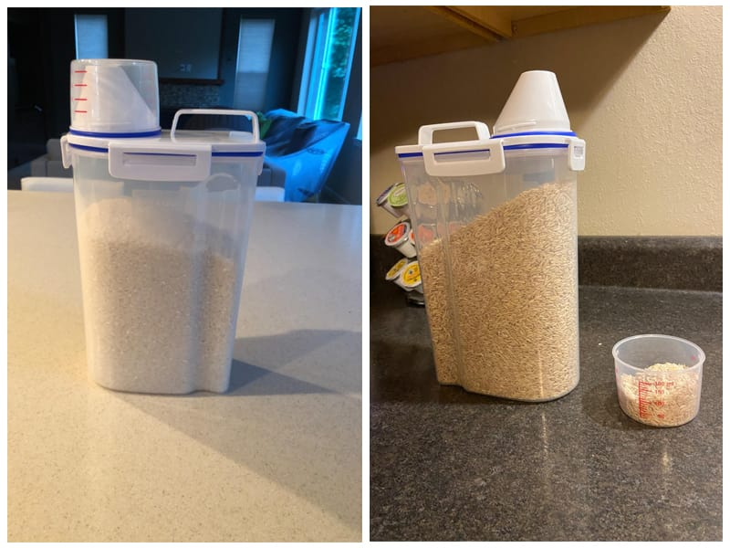 Uppetly Airtight Dry Food Storage Containers review