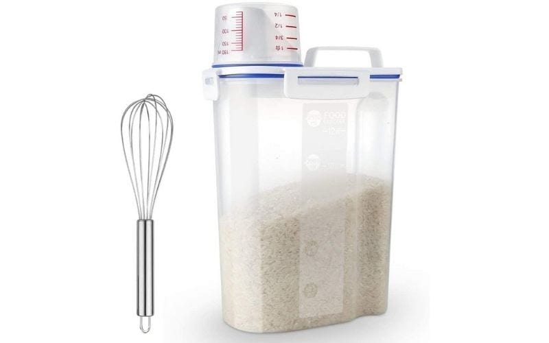 Uppetly Rice Airtight Dry Food Storage Containers