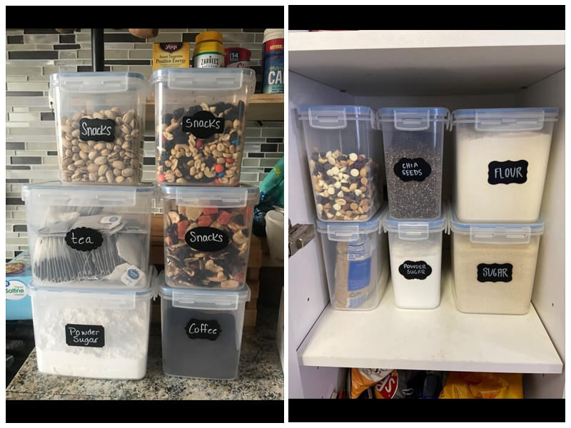 Vtopmart Airtight Dry Food Storage Container Set review