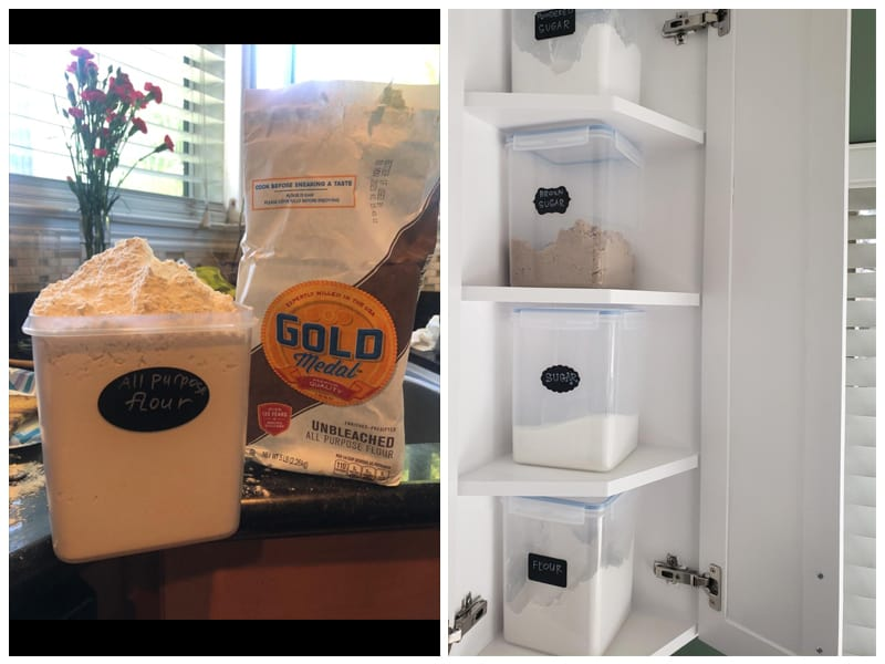 Vtopmart Rice Storage Containers review