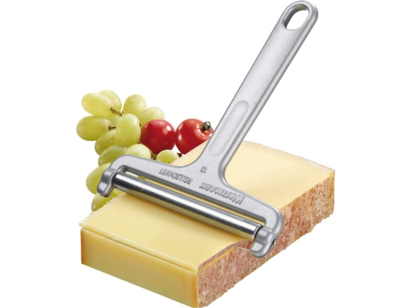 Westmark Germany Heavy Duty Stainless Steel Wire Cheese Slicer with grapes