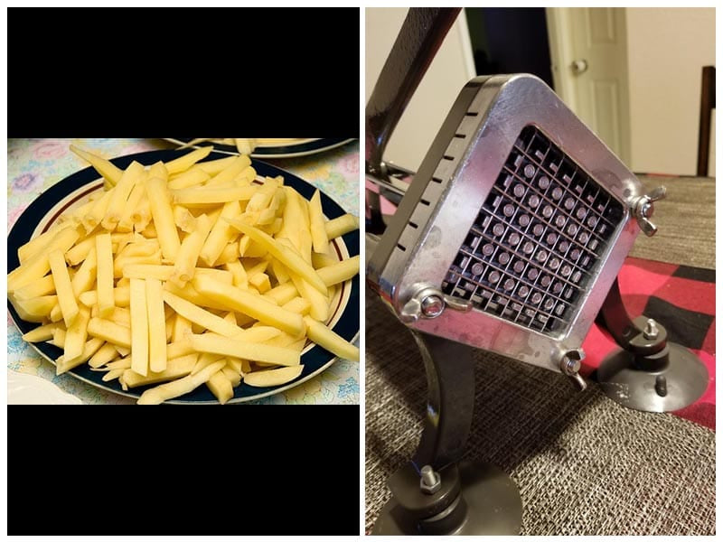 Weston Restaurant Quality French Fry Cutter  review