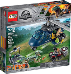 "LEGO JURASSIC WORLD - BLUE""S HELICOPETER PURSUIT 75928"