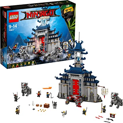 LEGO THE NINJAGO MOVIE - TEMPLE OF THE ULTIMATE ULTIMATE WEAPON 70617