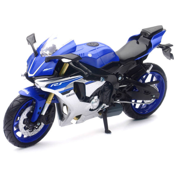 MOTO NEW RAY YAMAHA YZF-R1 STREET BIKE ESCALA 1/12 - AZUL