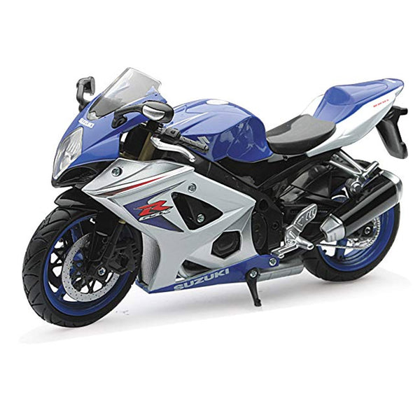 MOTO NEW RAY SUZUKI GSX-R1000 STREET BIKE ESCALA 1/12