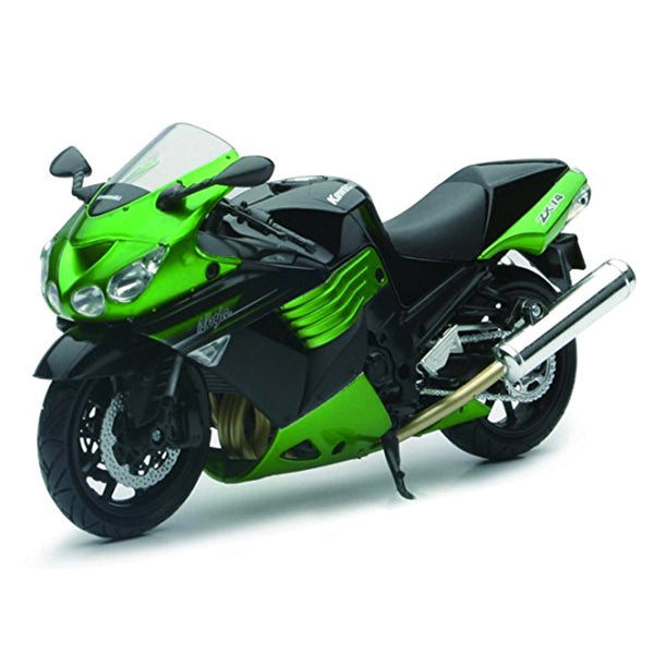 MOTO NEW RAY KAWASAKI ZX-14 STREET BIKE ESCALA 1/12