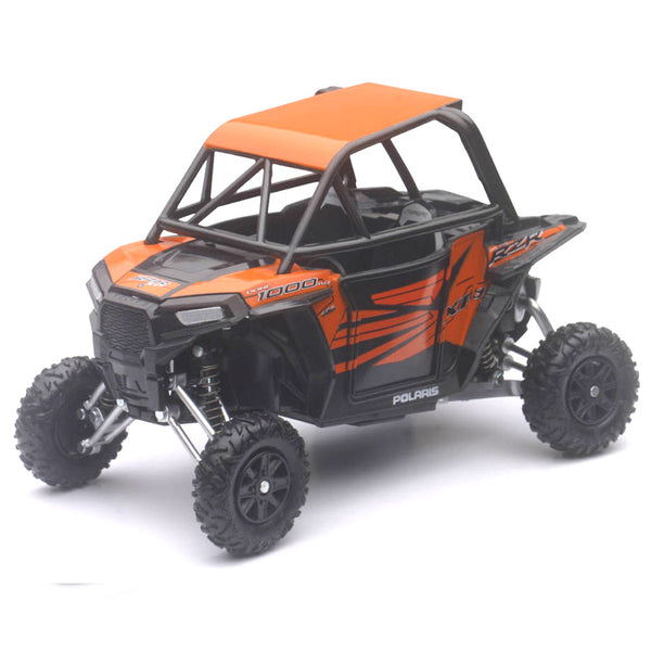 MOTO NEW RAY POLARIS RZR XP1000 ORANGE MADNESS ESCALA 1/18