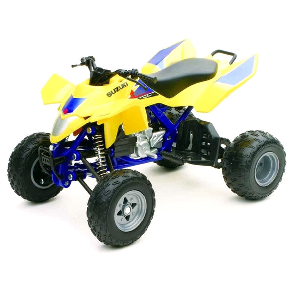 MOTO NEW RAY SUZUKI QUADRACER R450 ATV ESCALA 1/12