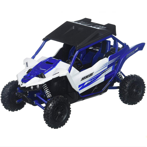 MOTO NEW RAY YAMAHA YXZ1000R ESCALA 1/18 - AZUL