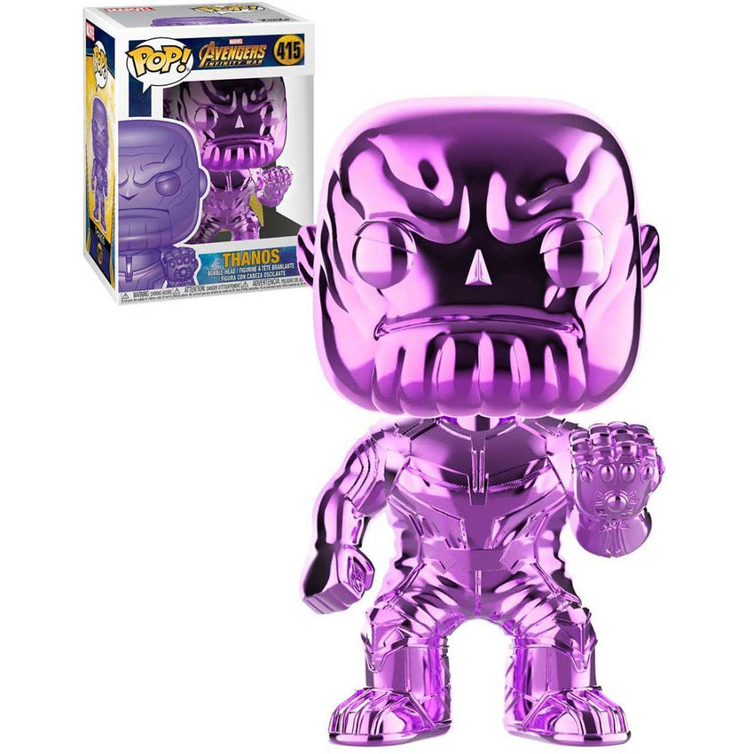 FUNKO POP MARVEL AVENGERS INFINITY WAR - THANOS CHROME PURPLE - 415