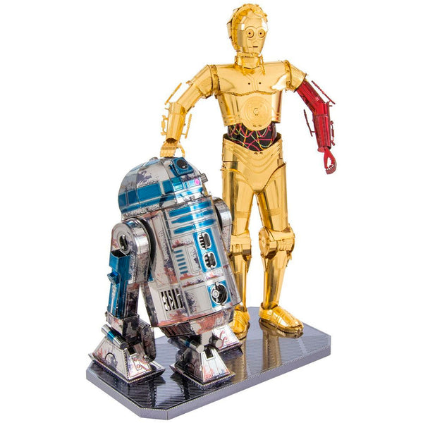 MINIATURA DE MONTAR METAL EARTH STAR WARS DELUXE SET - C-3PO & R2-D2 (MMG276) OUTROS